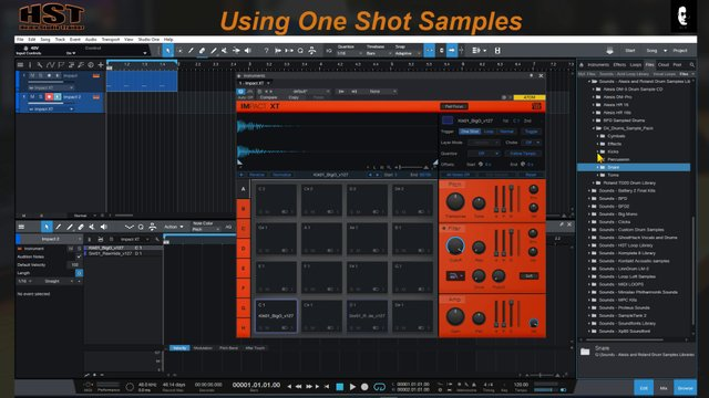 Using One Shot Samples