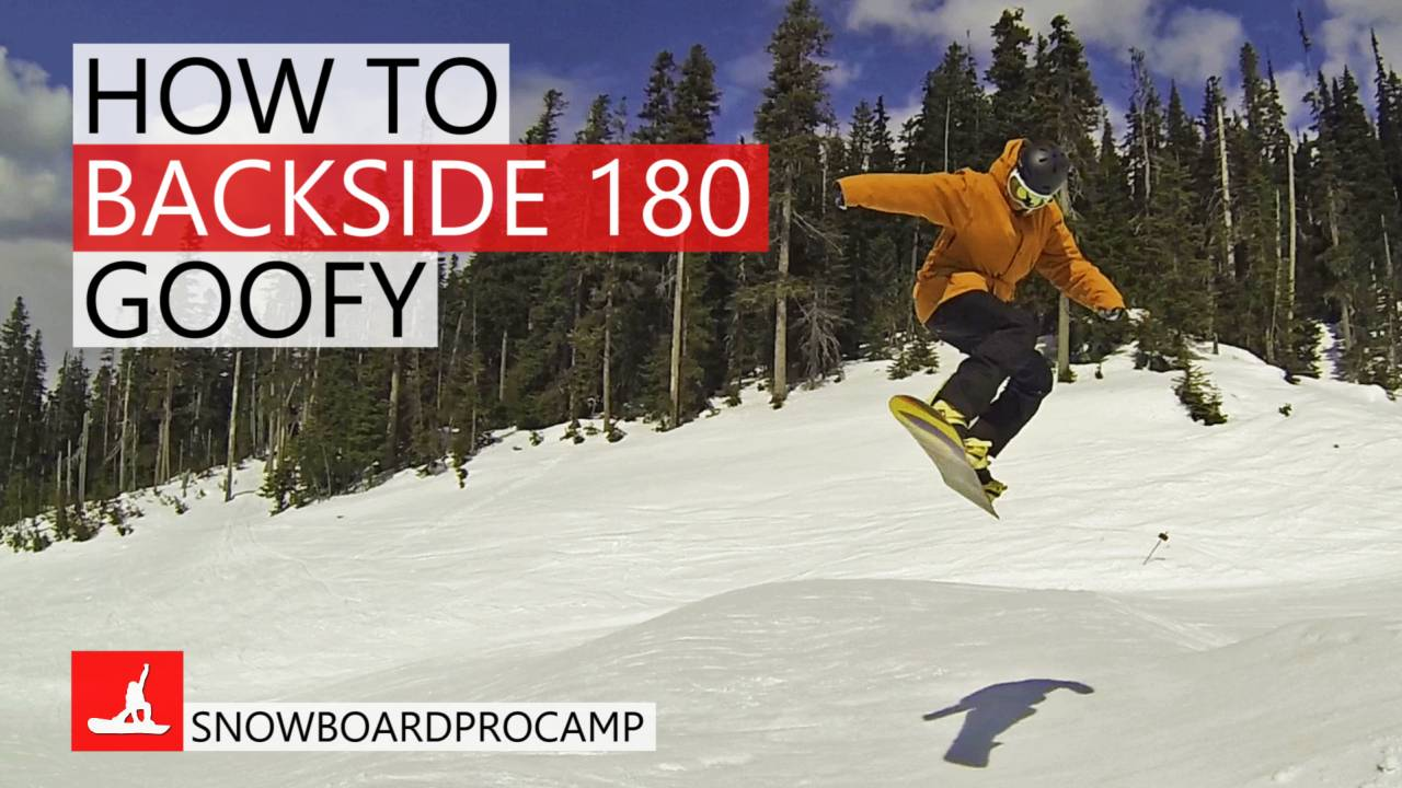 How To Backside 180 In The Park Snowboarding Tricks Goofy Kevin Pearce