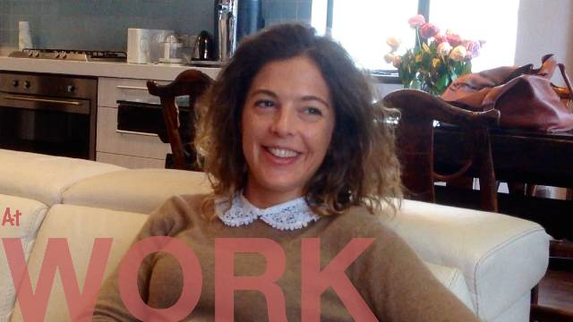 About work - SHANGHAI by Solveig from France.