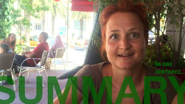 Summary: In one sentence - TUNIS by Sabine from Germany