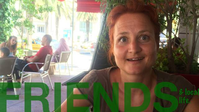 Friends & local life - TUNIS by Sabine from Germany.
