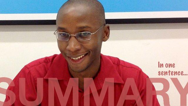 SUMMARY: In one sentence - SHANGHAI Eric from Trinidad.