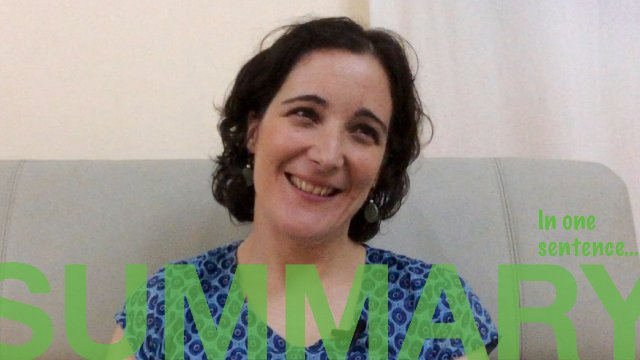 SUMMARY: In one sentence - NOUAKCHOTT by Raquel from Spain [Spanish with English subtitles].
