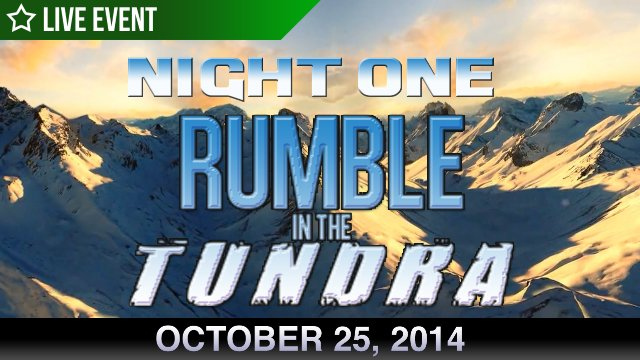 Rumble In The Tundra - Night 1