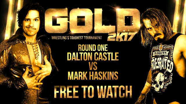 Mark Haskins vs Dalton Castle