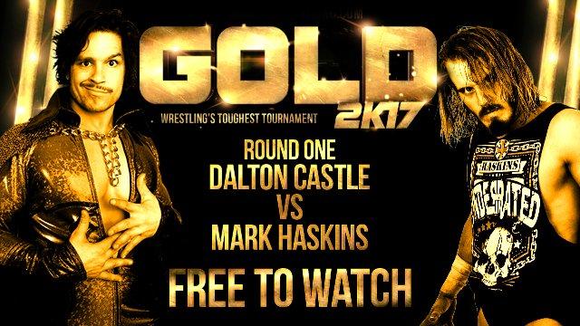 Mark Haskins vs Dalton Castle