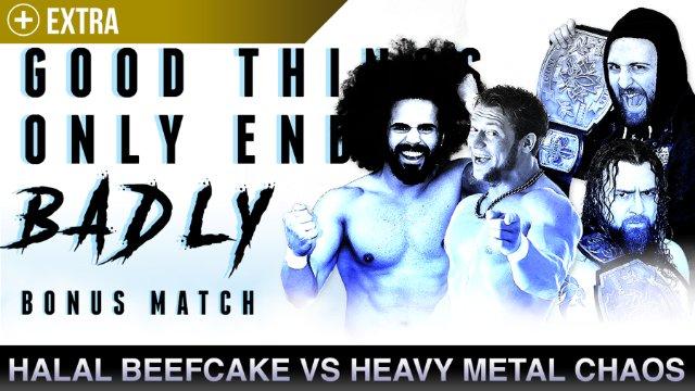 Halal Beefcake vs Heavy Metal Chaos