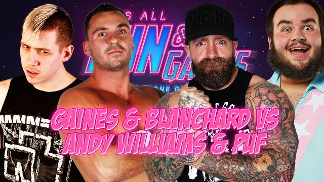 Anthony Gaines & Kevin Blanchard vs Andy Williams & PUF