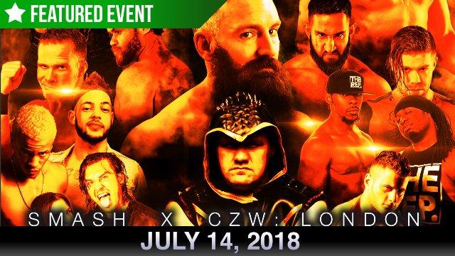 SMASH X CZW - London