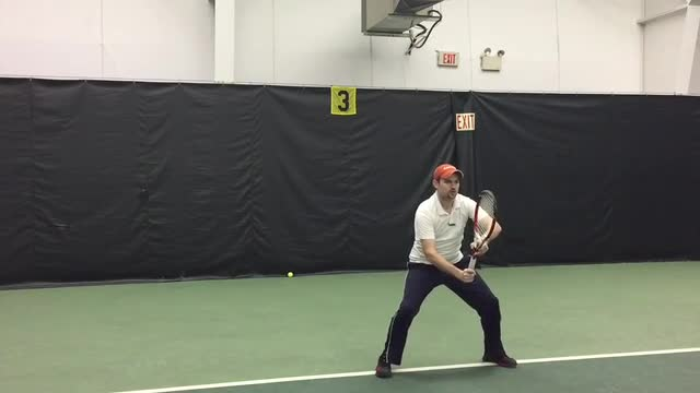 How To React Faster To Your Opponent's Return Of Serve