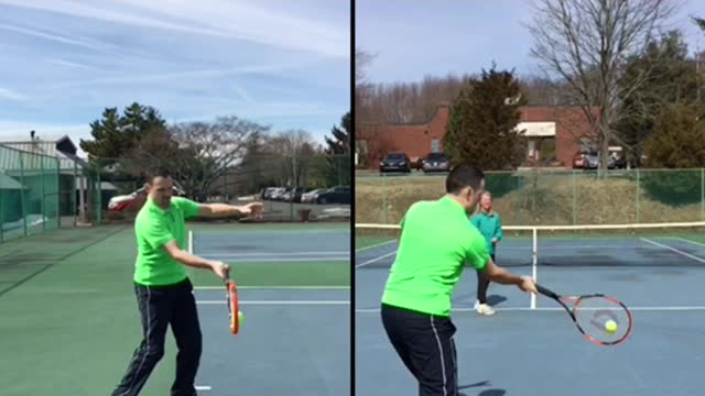 Forehand Groundstroke Basics #2: Contact Point