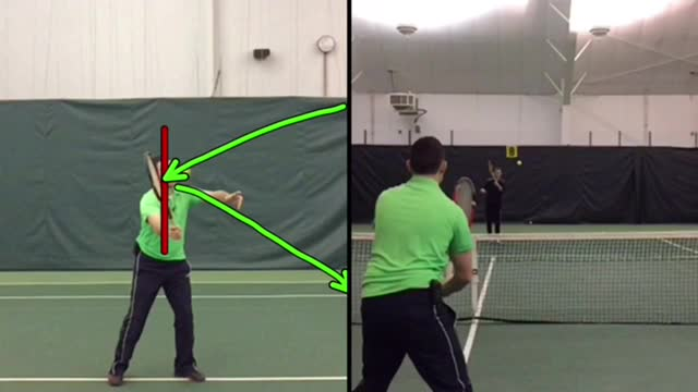 Forehand Volley Basics #1: How To Hit A Soft Volley