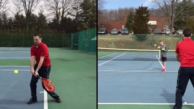 Two-Handed Backhand Groundstroke Basics #1: Backswing