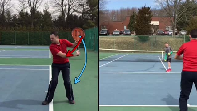 One-Handed Backhand Groundstroke Basics #1: Backswing