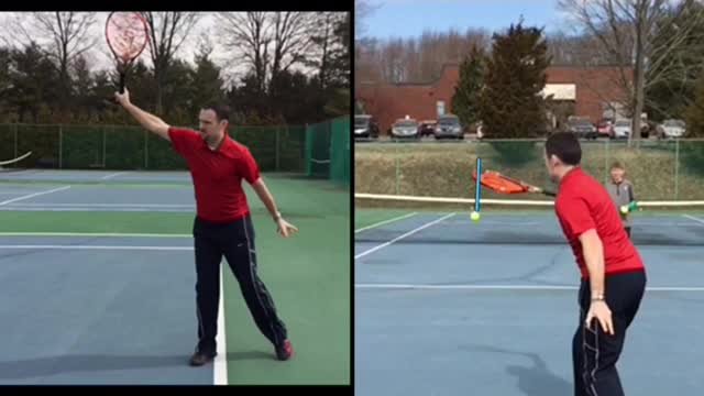 One-Handed Backhand Groundstroke Basics #2: Contact and Follow Through