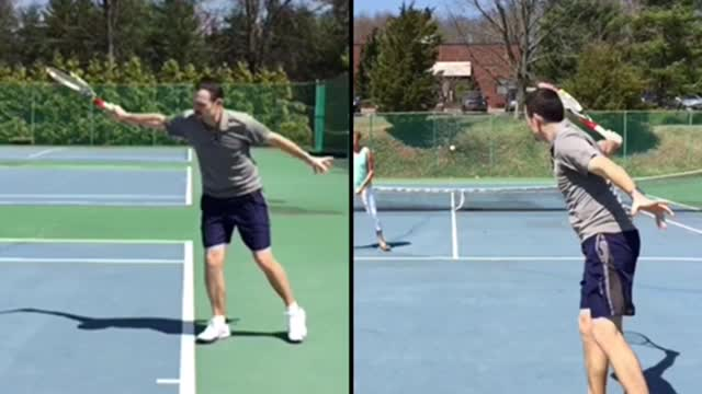 Slice Backhand Basics #2: Contact To Follow Through