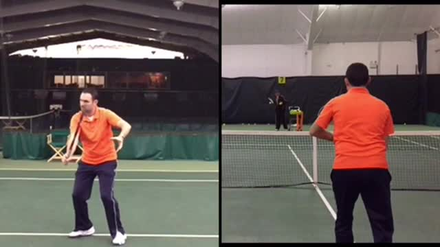 One-Handed Backhand Volley Basics: How To Hit A Soft Volley
