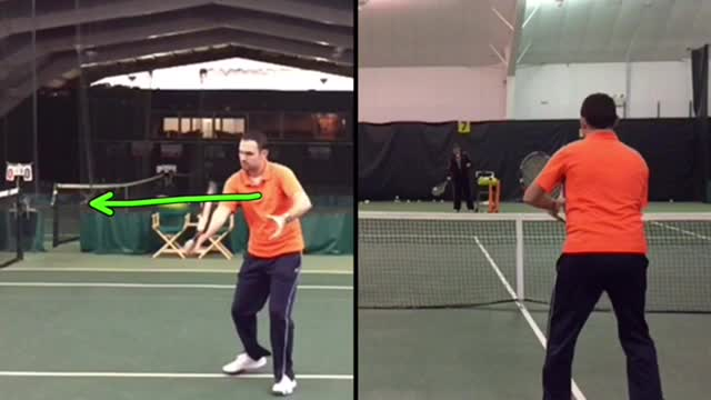 One-Handed Backhand Volley Basics: How To Hit A Hard Volley