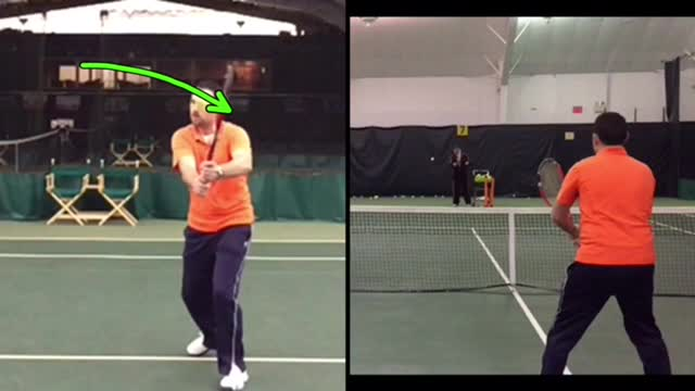 Two-Handed Backhand Volley Basics: How To Hit The Volley Softly