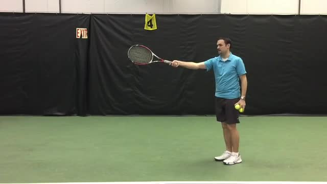 The Correct Distance From The Ball On High vs Low Groundstrokes