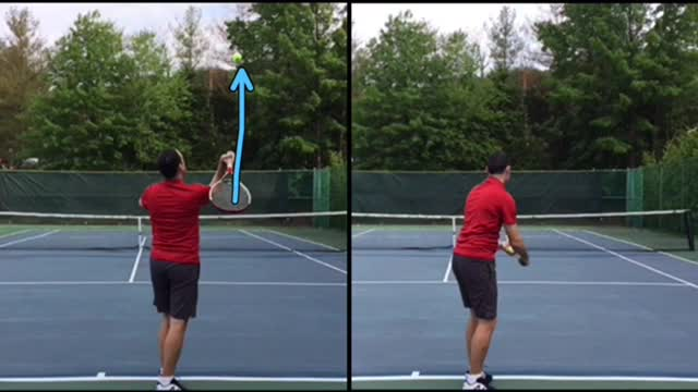 Can You Spot The Mistake In My Serve Technique?
