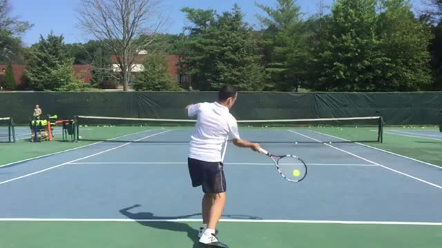 How To Double The Amount Of Topspin On Your Groundstrokes