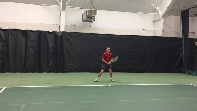 Live Hitting: Groundstrokes