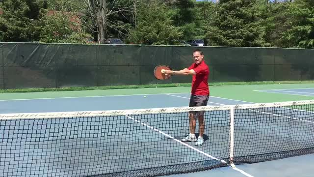 The Best Racket Position On A Volley