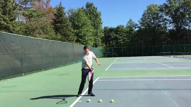 A Drill For More Control On Your Ground Strokes
