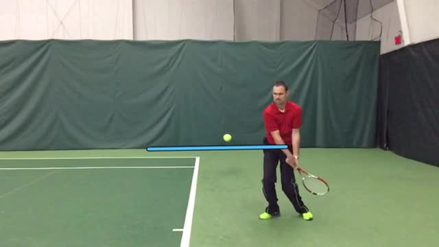 The #1 key to hitting topspin