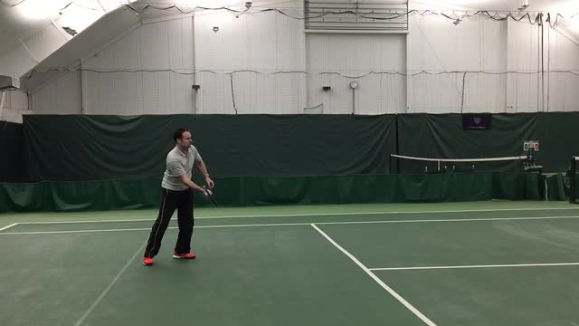 When To Have An Open Racket Face When Volleying