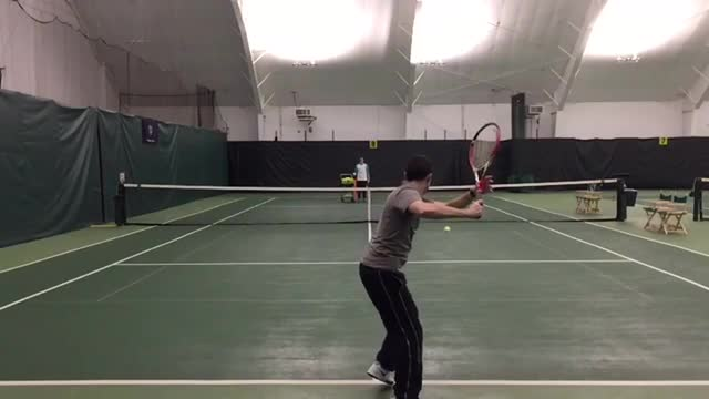 The Forehand Finish That Adds Consistency