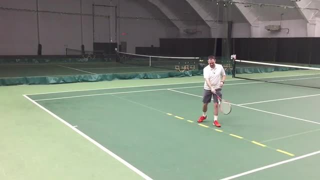 The Perfect Serve and Volley Practice Drill