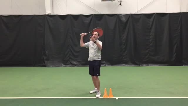 Drill To Practice Your Serve Follow Through