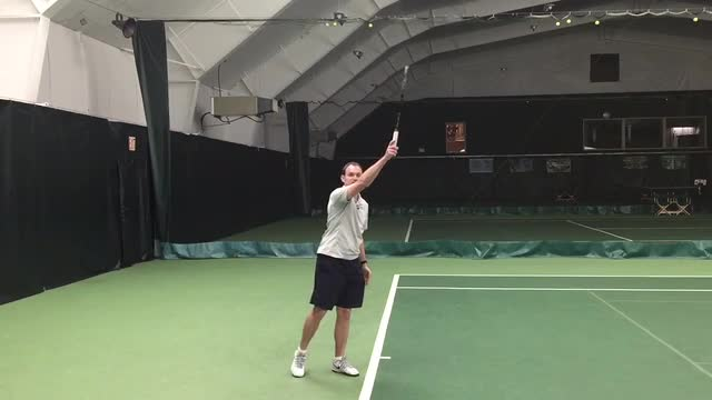 How to Fix a Serve That Lands Long