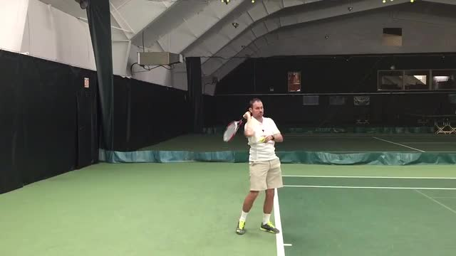 A Drill to Help Maximize Serve Speed