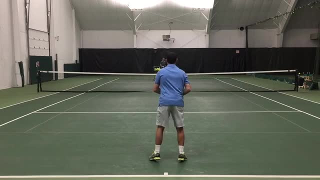 Tip for Following Through on Ground Strokes
