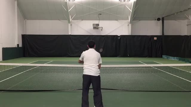 Hit More Consistent Volleys