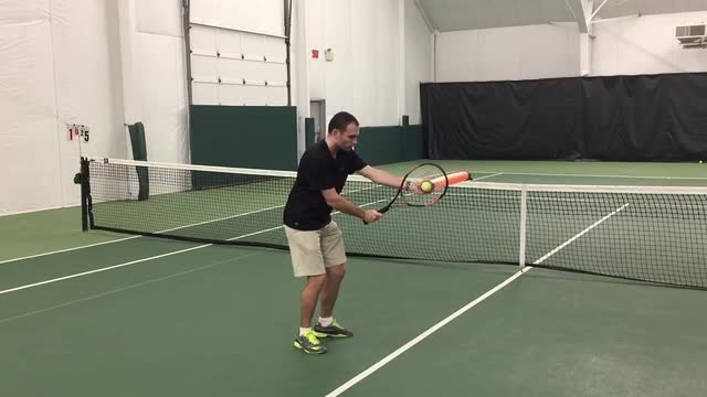 The Correct Ball Flight on Three Different Volleys
