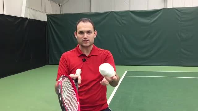 At Home Topspin Practice