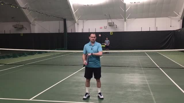 Should You Move Through A Volley?