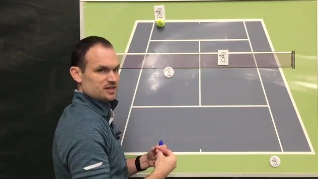 Up and Back Movement with the Ball in Doubles