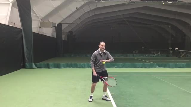 Proper Weight Transfer on Your Serve