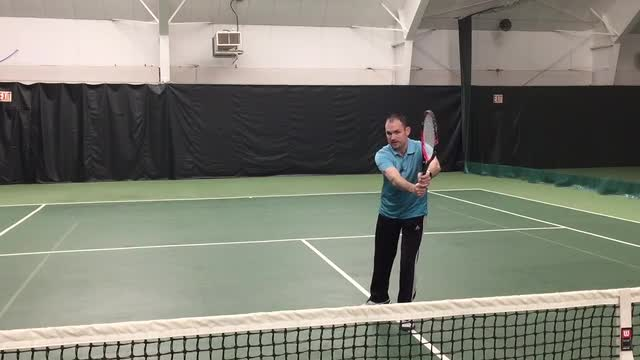 Two Simple Ways To Improve Your Forehand Volley