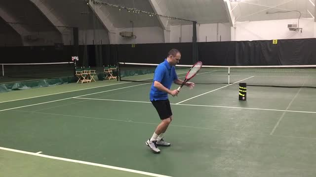 How to Correctly Hit Open Stance Ground Strokes
