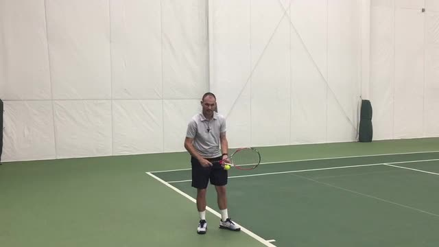 """A Way To """"Find"""" Your Serve If You Lose It During A Match"""