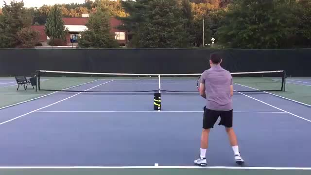 How A Backpack Helps Your Ground Strokes