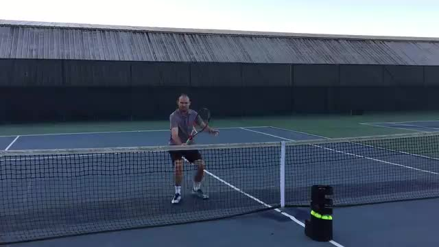 """When Volleying, Think, """"Fast Feet, Slow Hands"""""""