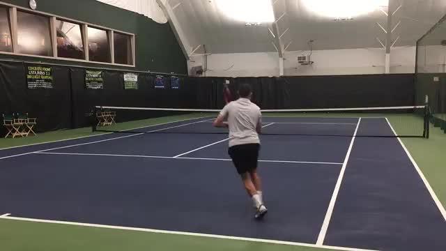 Mogul Stance Ground Stroke Footwork
