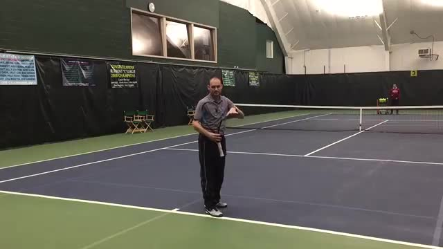 The Most Common Mistake Made When Contacting A High Ground Stroke